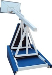 Movable and Height Adjustable Basketball Post