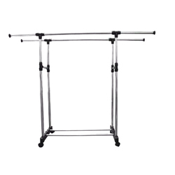Foldable Rolling Clothes Rack