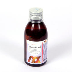 Guaphenesin Ambroxol HCL Menthol Syrup