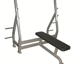 CC - 002B Flat Bench with Support Olympic