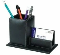 Leatherette Promotional Pen Stand