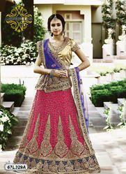 Heavy Embroidery Bridal Lehenga Choli