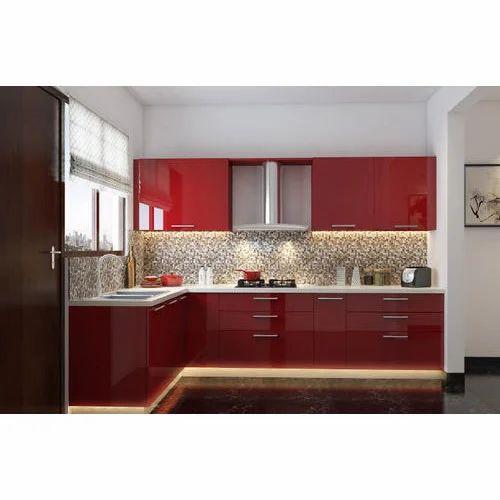 Acrylic Modular Kitchen Manufacturer