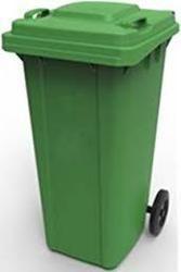 Plastic Dustbin Wheeled Waste Bin 120 Lit