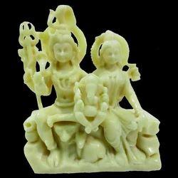 Resin Shiv Parvati Statue