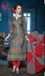 Unstitched Punjabi Suit