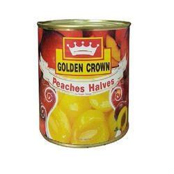 Peaches Halves In Sugar Syrup Premium 820gm