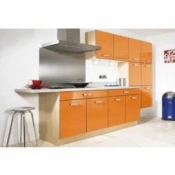 Laminated High Gloss Kitchen