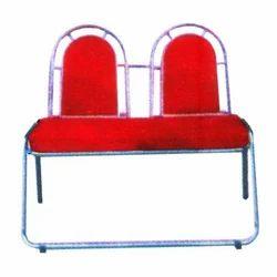 Orange Two Seater Sofa