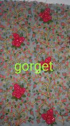 Georgette Embroidery Work
