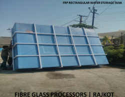 FRP Rectangular Water Tank