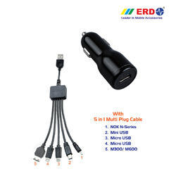 CC 40 Multi 100 Black Car Charger