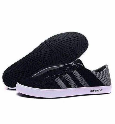 Men Adidas Neo Sneaker Black Shoes, Rs
