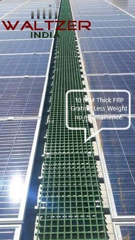 Frp Products Frp Solar Walkway Grating Manufacturer From