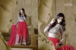 Wedding Wear Heavy Embroidery Bridal Anarkali Suits