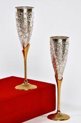 Silver Plated Goblet Set
