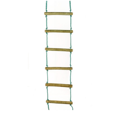 Rope Ladder With Aluminum Rags