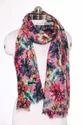 Modal Viscose Cotton Blends Floral Printed Scarves