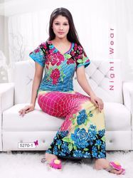 Ladies Colorful Night Gown