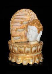 Lord Buddha Face Step Diya Fountain