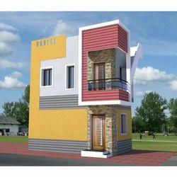3D Front Elevation Design