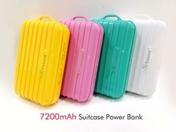 7200MAH SUITCASE POWER BANK