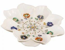 Inlay Marble Beautiful Fruit Bowl