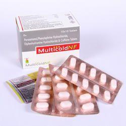 Paracetamol, Phenylephrine Hydrochloride Tablet