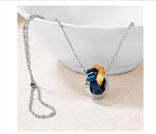 Circle of love pendant little fox face pendant from new delhi circle of love pendant aloadofball Choice Image