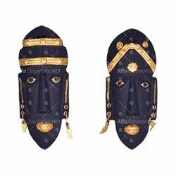 Terracotta Golden Mask