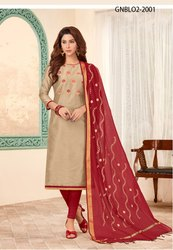 Resham Embroidered Suit