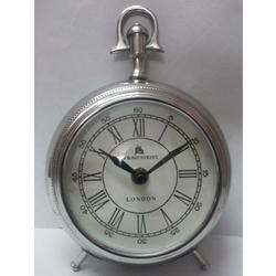 Brass Antique Table Clock