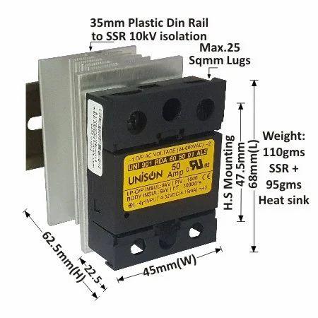 dc to ac random 45mm model 901 ssr 25 amp random dc to ac solid rh unisoncontrols org DC Relay Tyco Relays Catalog