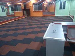 Gym Rubberised Flooring