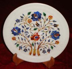 Decorative Stone Inlay Plate