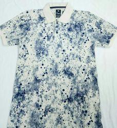 Indigo Collar T-shirt