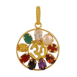 Navratan Om Locket