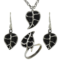 925 Sterling Silver Jewelry Set