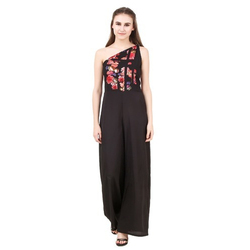 Western Wear Sassy One Shoulder Jumpsuit
