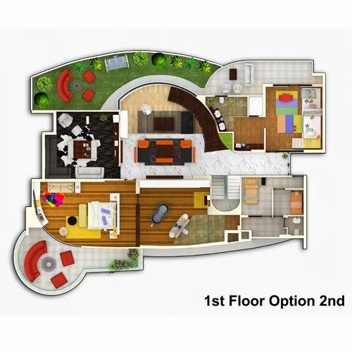 2D Floor Plan Service Provider