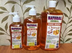 Natural Herbal Orange Hand Wash