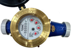 TOSHNIWAL 40mm Brass Multi Jet Class B Screwed Water Meter