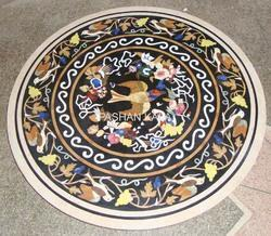 Stone Flower Inlaid Table Top