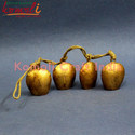 Indian Metal Rustic Bells String Home Garden Decorations