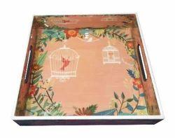 Wooden Designer Gift Tray