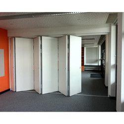 Acoustic Folding Partition Door