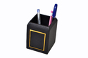 Leatherette Pen And Pencil Holder