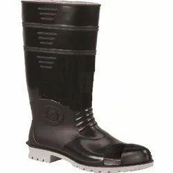 Black/ Gray Dynamic Gumboot