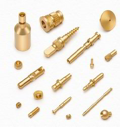 Brass Micro Turned Parts