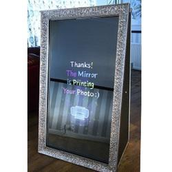 65 inch certificated magic photo booth mirror